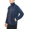 Columbia Fast Trek II Full Zip Fleece Men Collegiate Navy/Rust Red